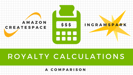 Amazon CreateSpace vs IngramSpark Royalties, a realtime calculation