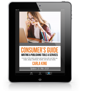 Consumers Guide to Self-Publishing Tools & Services Boot Camp Carla King