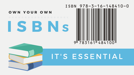 Keep your book free! Own your own ISBNs