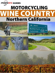 Moto SFO motorcycling wine country san francisco carla king