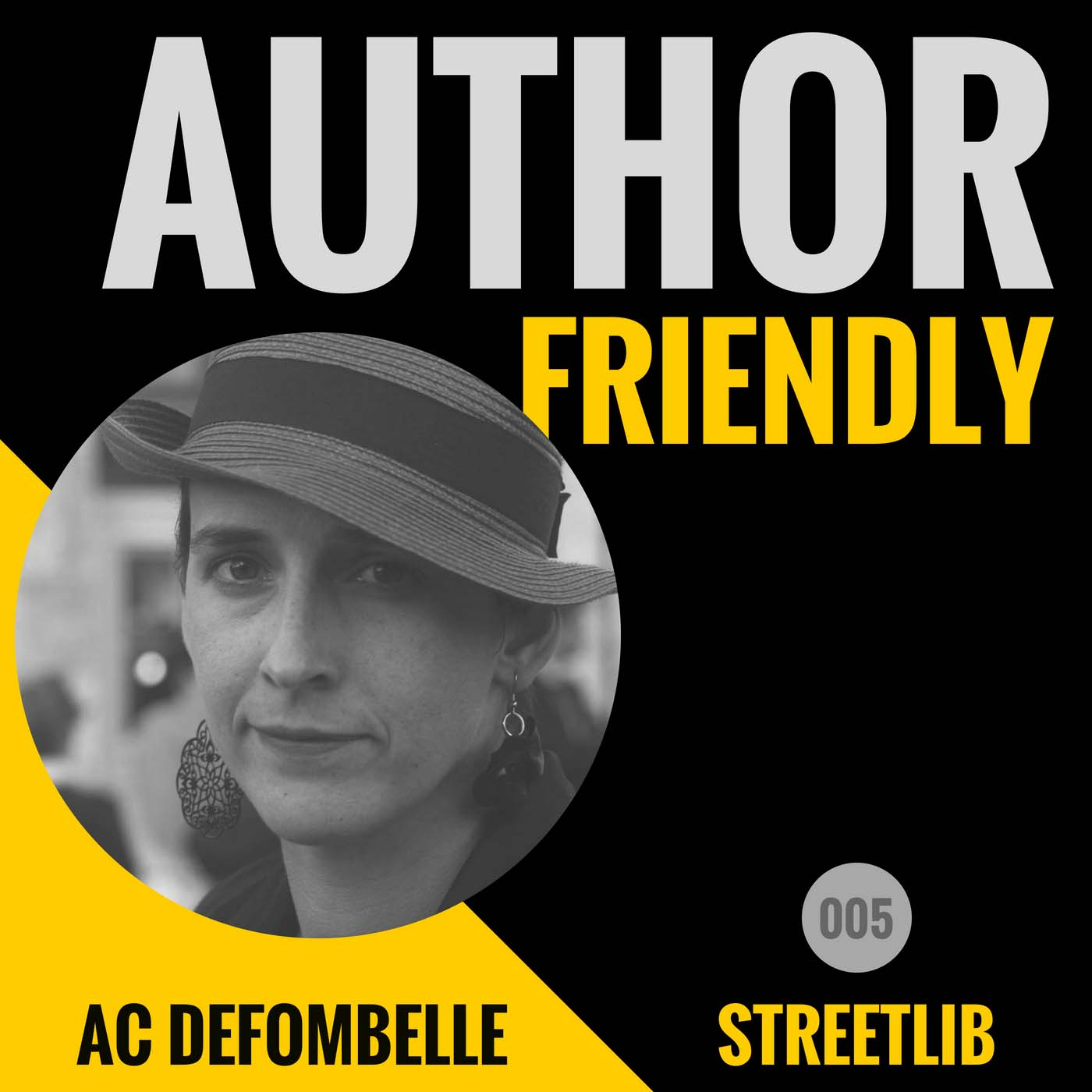 Author Friendly Podcast #5: AC de Fombelle, StreetLib