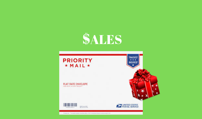 priority mail for holiday sales