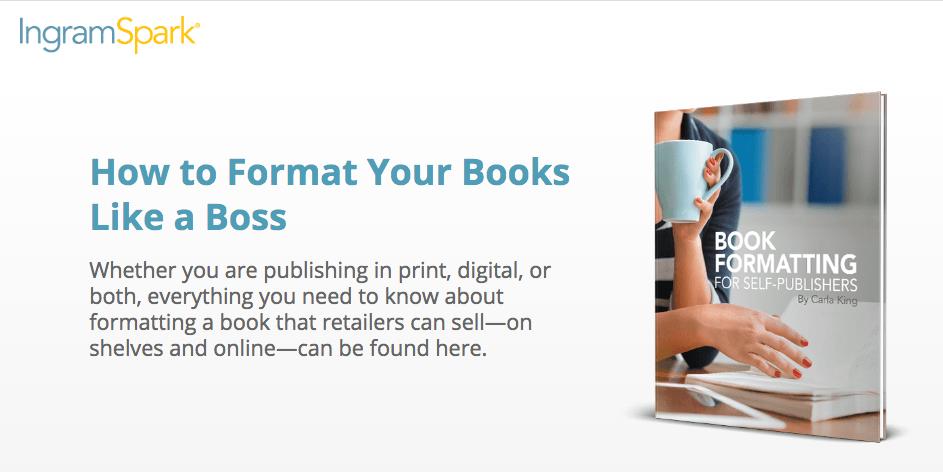 IngramSpark Book Formatting Guide