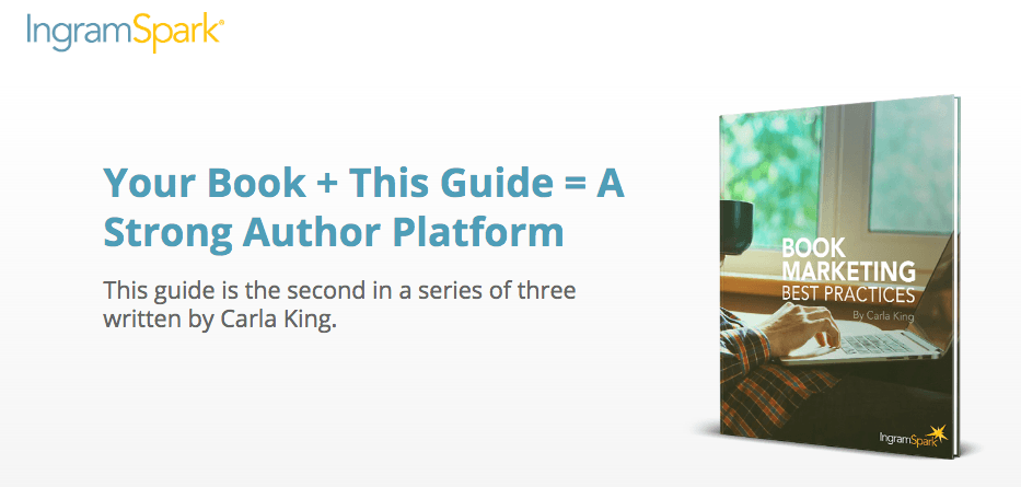 IngramSpark Book Marketing Author Platform Guide