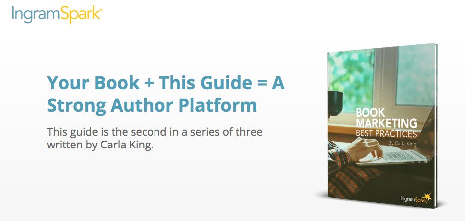 IngramSpark Book Marketing Author Platform Guide