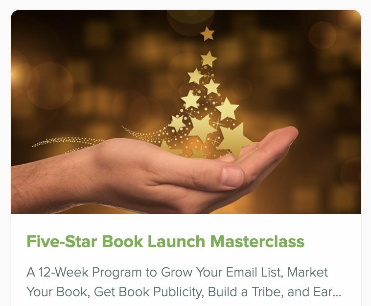 Five-Star Book Launch Masterclass